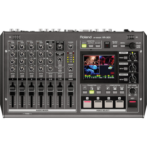 Picture of Roland VR-3EX SD/HD A/V Mixer with USB Streaming
