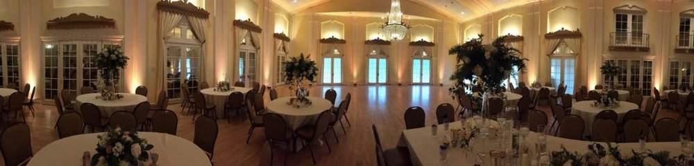 Picture of AV for You Wedding lighting at the Lafayette Club