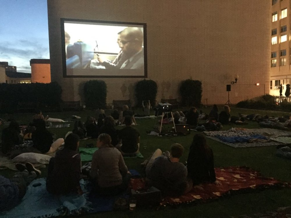 Picture of AV for You Outdoor Movie at Brit's Pub