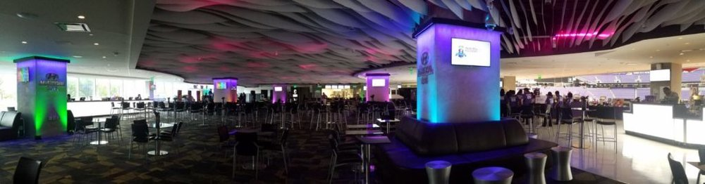 Picture of AV for You set up for a Fundraiser in the Hyundai Club at US Bank Stadium