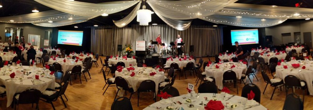 Picture of AV for You set for Team Ally Gala at Midpointe