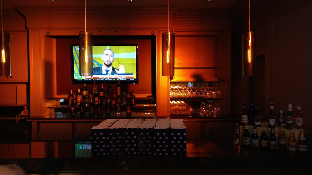 Picture of AV for You uplighting at Hilton Downtown Minneapolis for Fox Sports