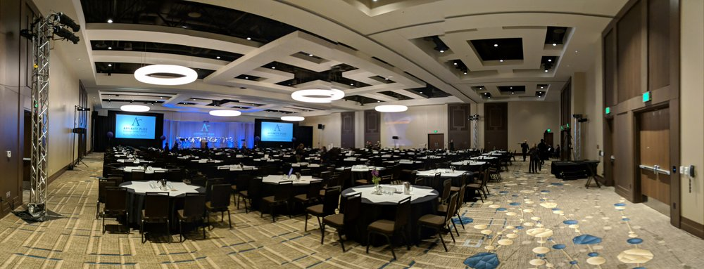 Picture of AV for You set up at JW Marriott in Bloomington, MN