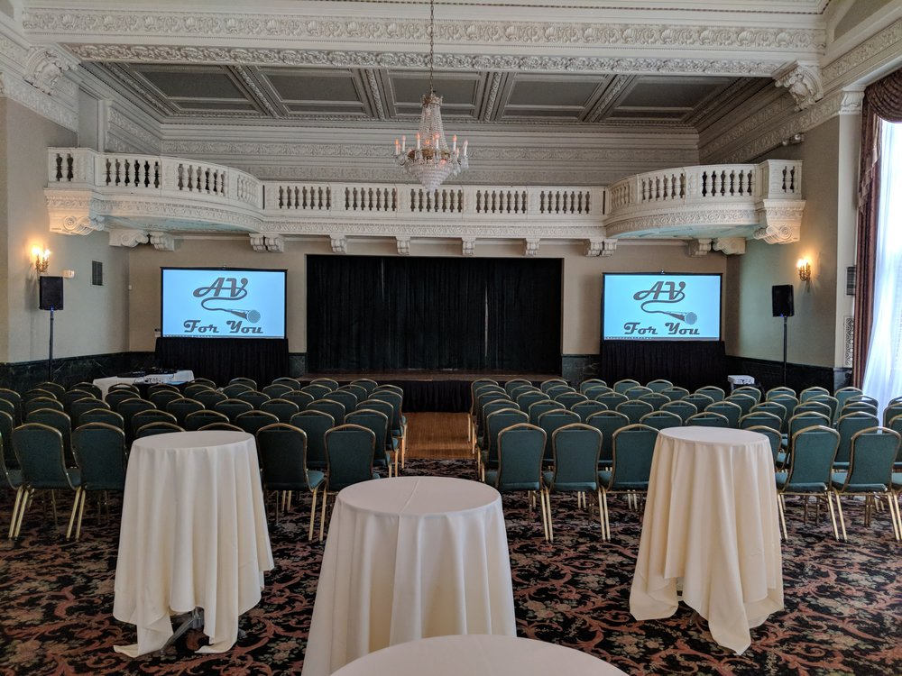Picture of AV for You audio and video rental at the St Paul Athletic Club