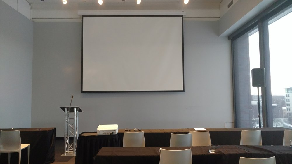 Picture of AV for You audio and video rental at the Walker Art Center in Minneapolis