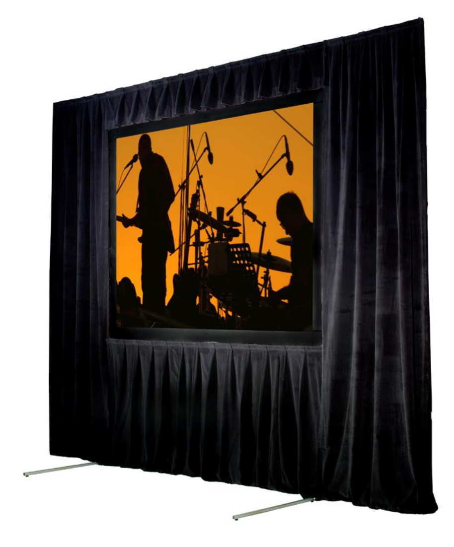 Picture of AV for You Screen Works screen and drape available to rent