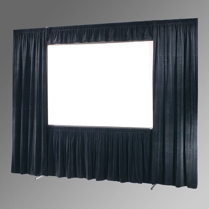 Picture of AV for You Draper Cinefold screen and drape available to rent