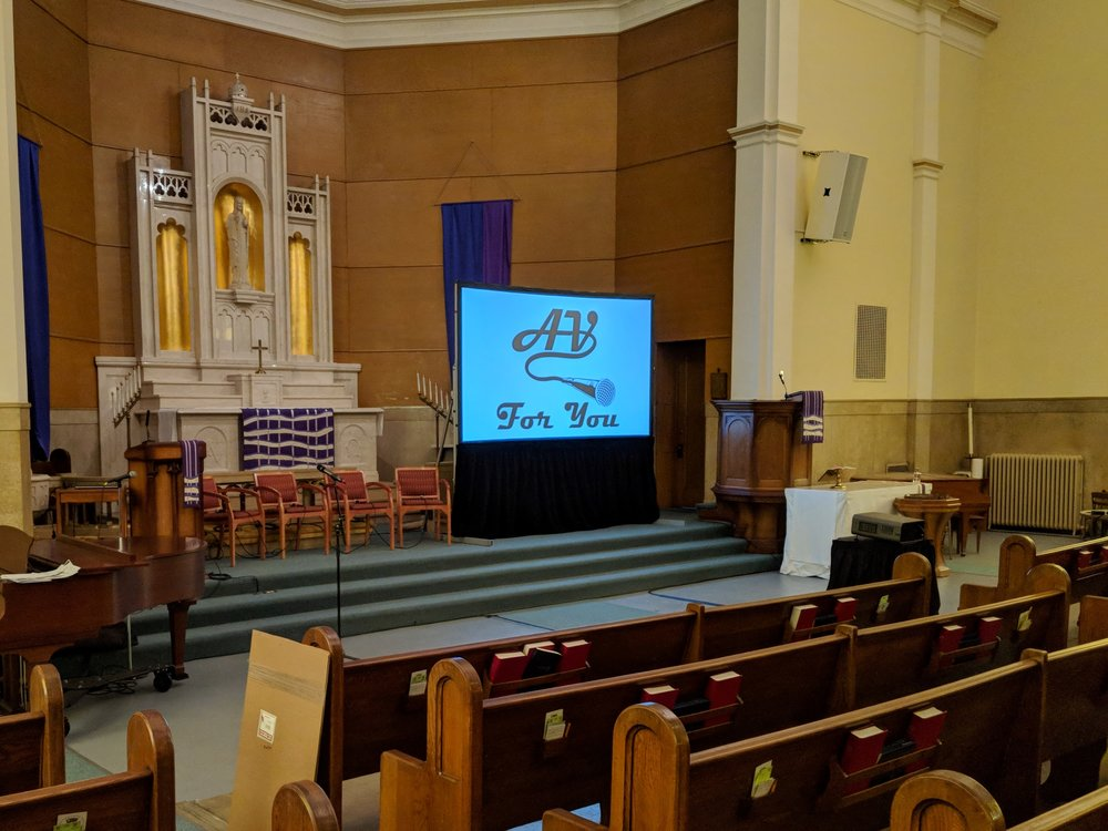 Picture of AV for You Projector and Screen rental in St Paul