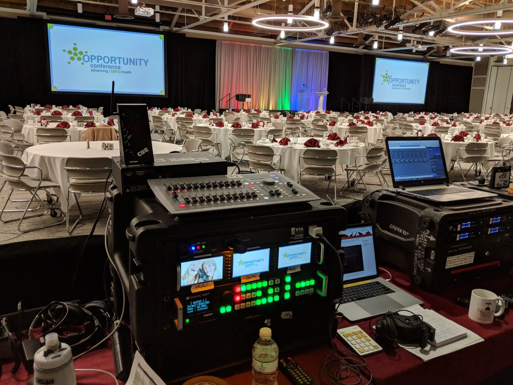Picture of AV for You audio, visual and lighting rental equipment in St Paul