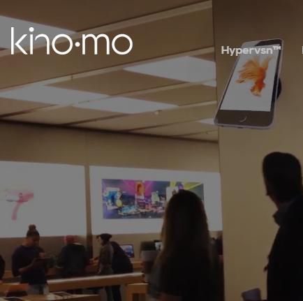 $600 Kino-Mo Hypervsn Hologram Projector (for 3D floating images
