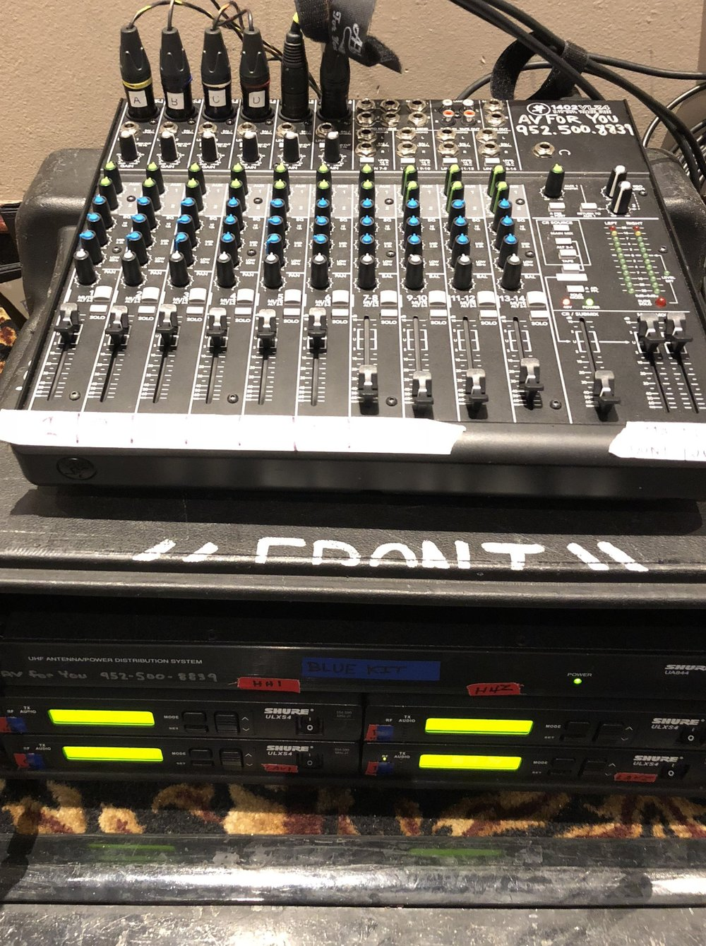 Picture of AV for You Mackie Mixer rental at The Mermaid in Mounds View