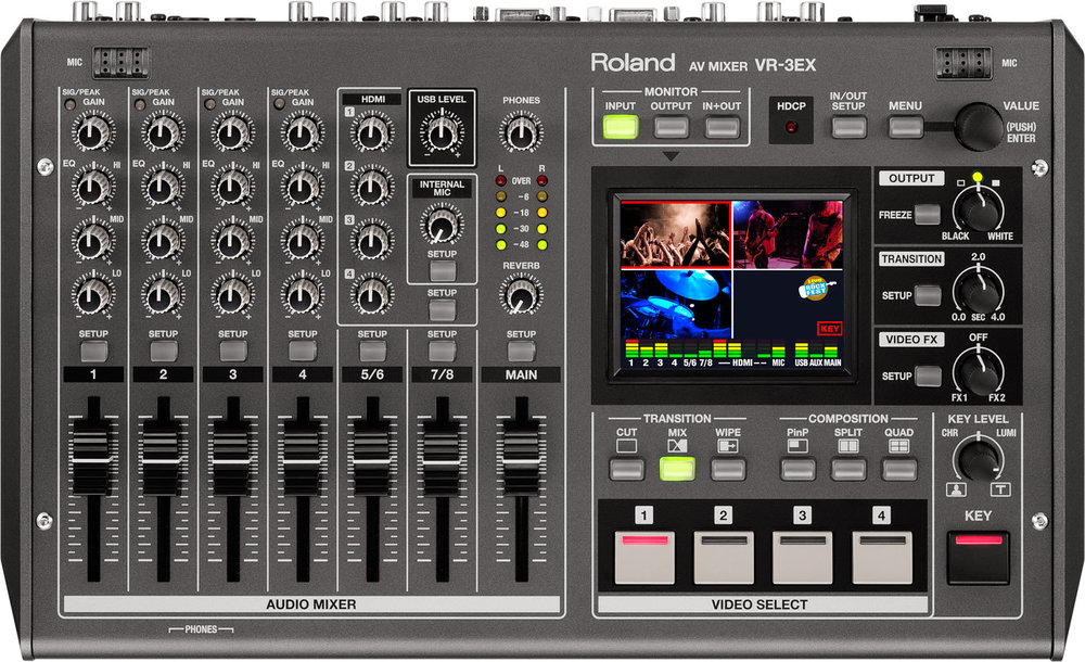 Picture of AV for You Roland Video Mixer/Switcher available to rent