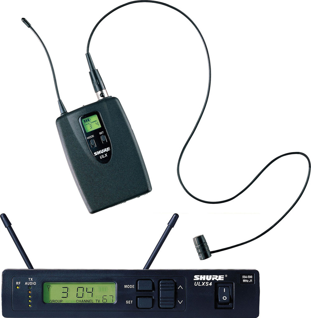 Picture of AV for You wireless lavalier microphone available to rent
