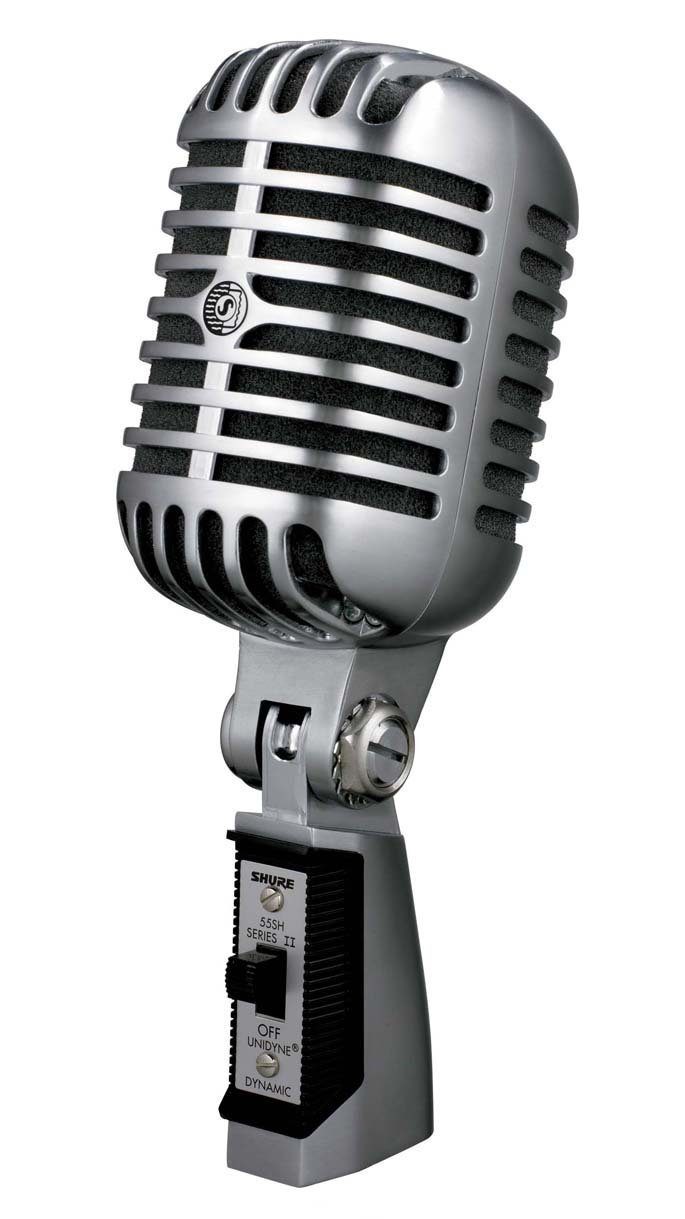 Picture of AV for You Shure 55SH Microphone available to rent