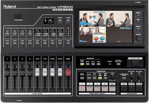Picture of AV for You Roland VR-50HD Multi Format A/V Mixer