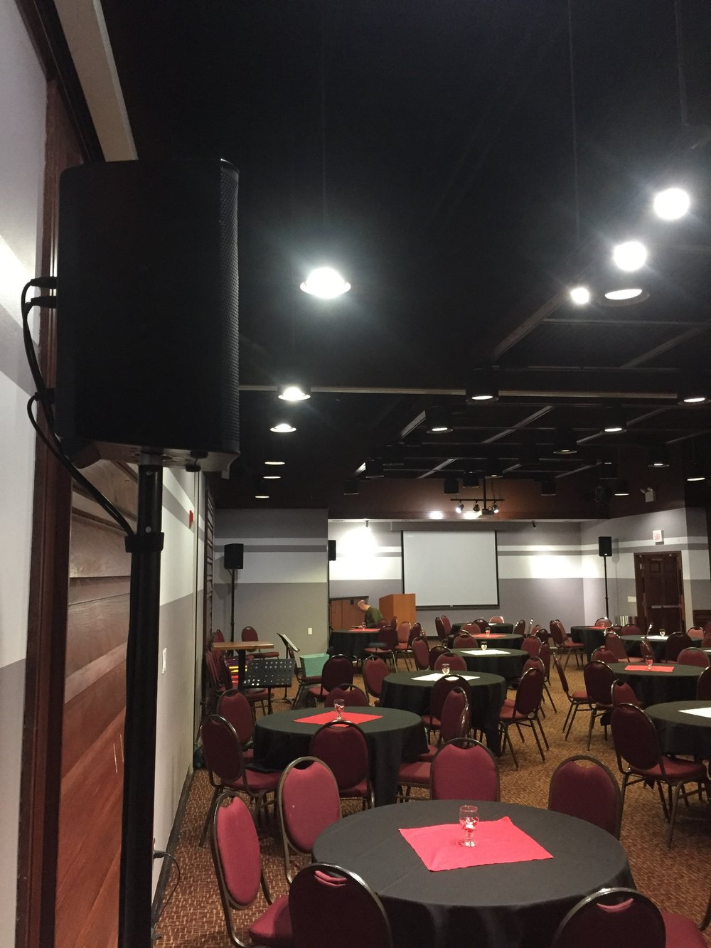 Picture of AV for You speaker rental at Bowlero in Eden Prairie