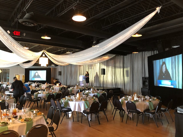 Picture of AV for You rental equipment at the Midpointe Event Center in St Paul