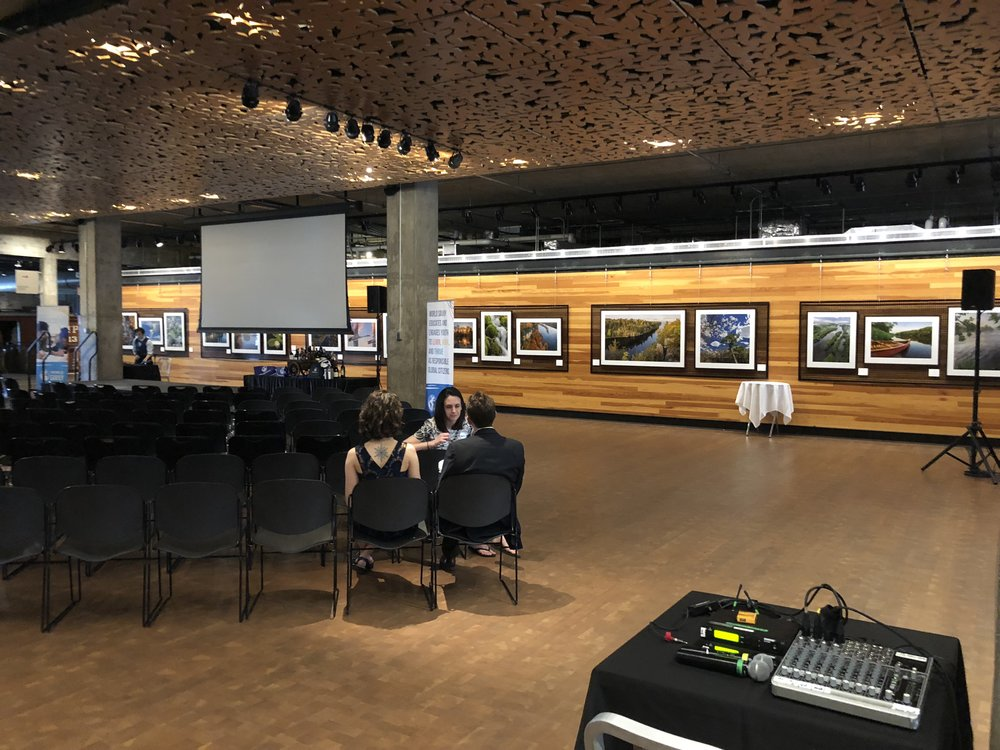 Picture of AV for You audio equipment rental at the Mill City Museum