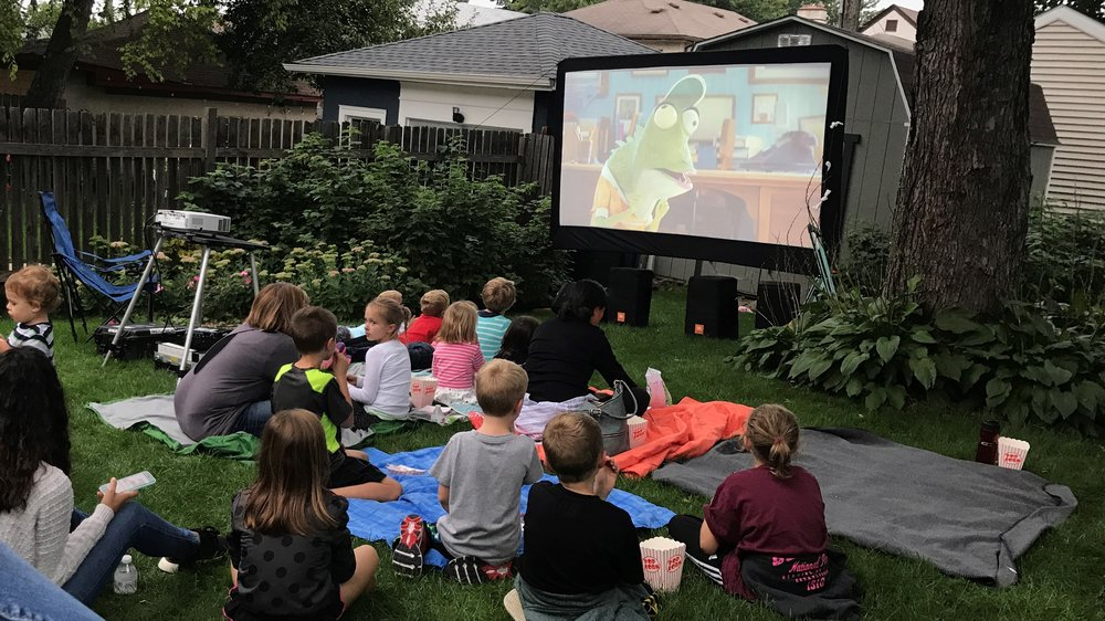 Picture of AV for You outdoor movie equipment rental in Minneapolis