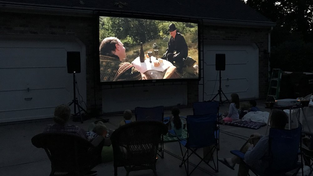 Picture of AV for You outdoor movie equipment rental in Minnesota