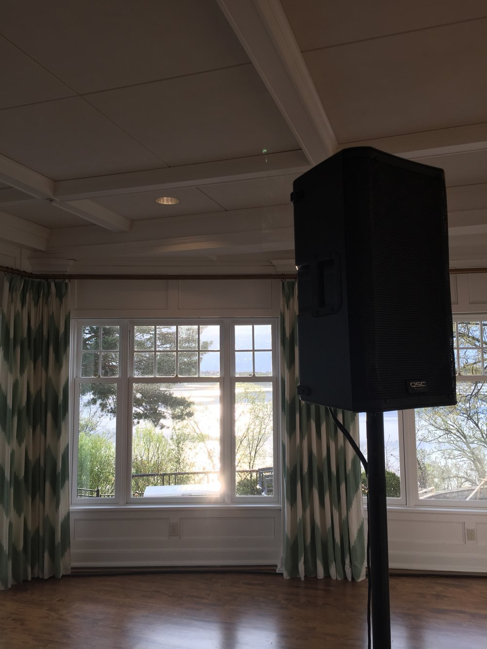Picture of AV for You speaker rental at the Minikahda Club in Minneapolis