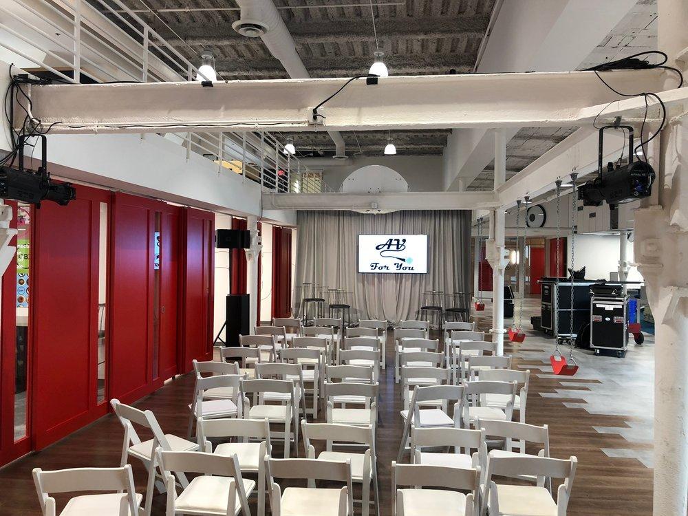 Picture of AV for You lighting rental in Minneapolis