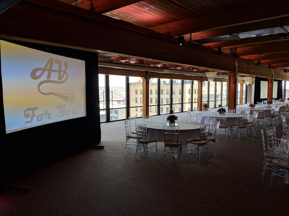 Picture of AV for You projector and screen rental at A'Bulae in St Paul