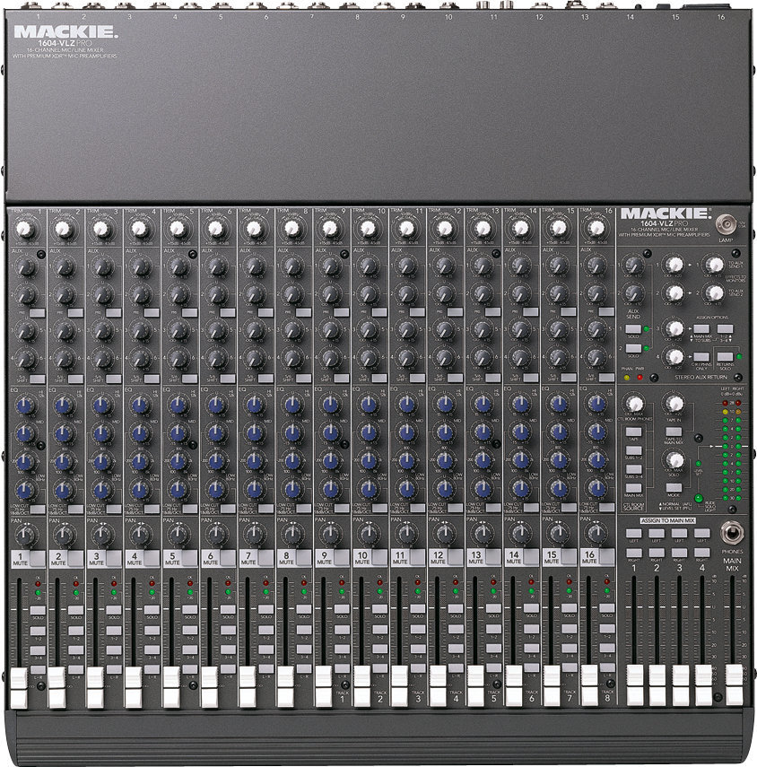 Picture of AV for You 16 channel mixing board available to rent