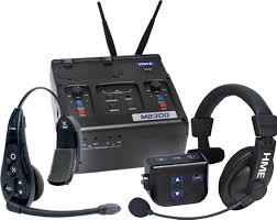 Picture of AV for You clear comm system available to rent