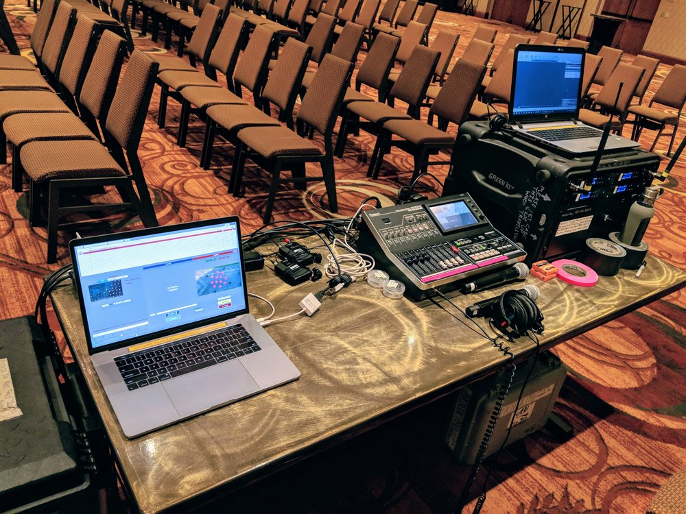 Picture of AV for You microphone rental atthe Sheraton Mpls West Hotel