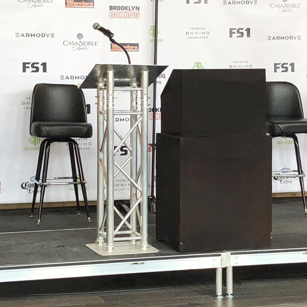 Picture of AV for You truss podium available to rent
