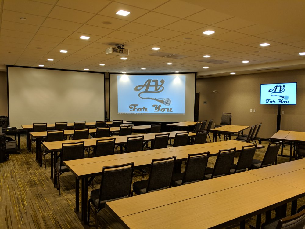 Picture of AV for You projector, screen and TV rental in Woodbury