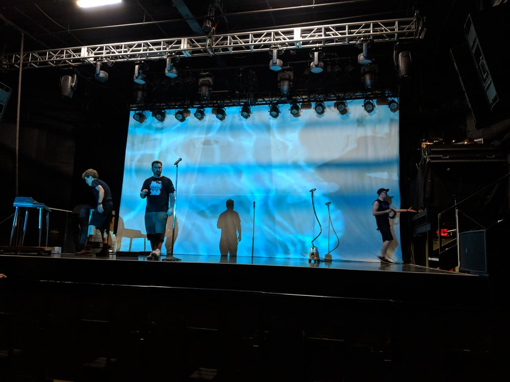 Picture of from AV for You 12K projector and backdrop rental at First Avenue in Minneapolis