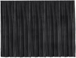 Picture of AV for You black velour drape available to rent