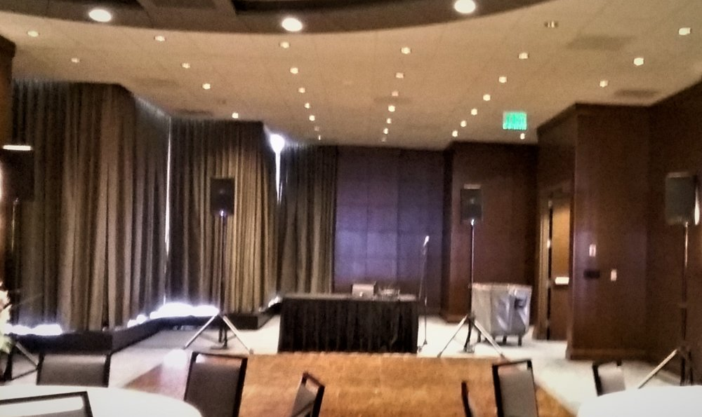 Dj Audio Rental Equipment For A Reception Audio Visual Equipment