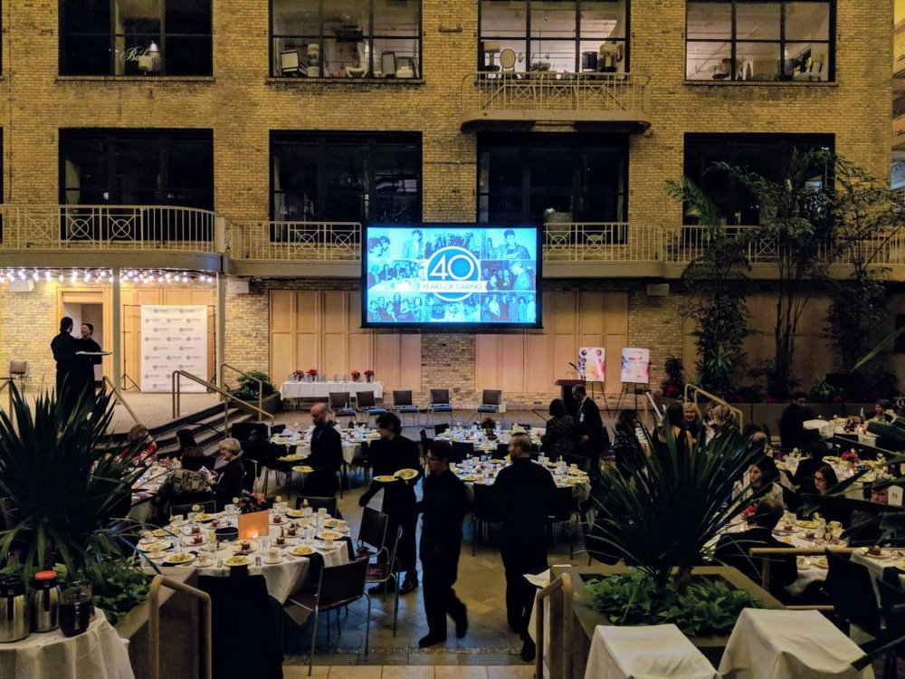 Picture of AV for You 8' x 14' Fastfold Screen without Drape rental