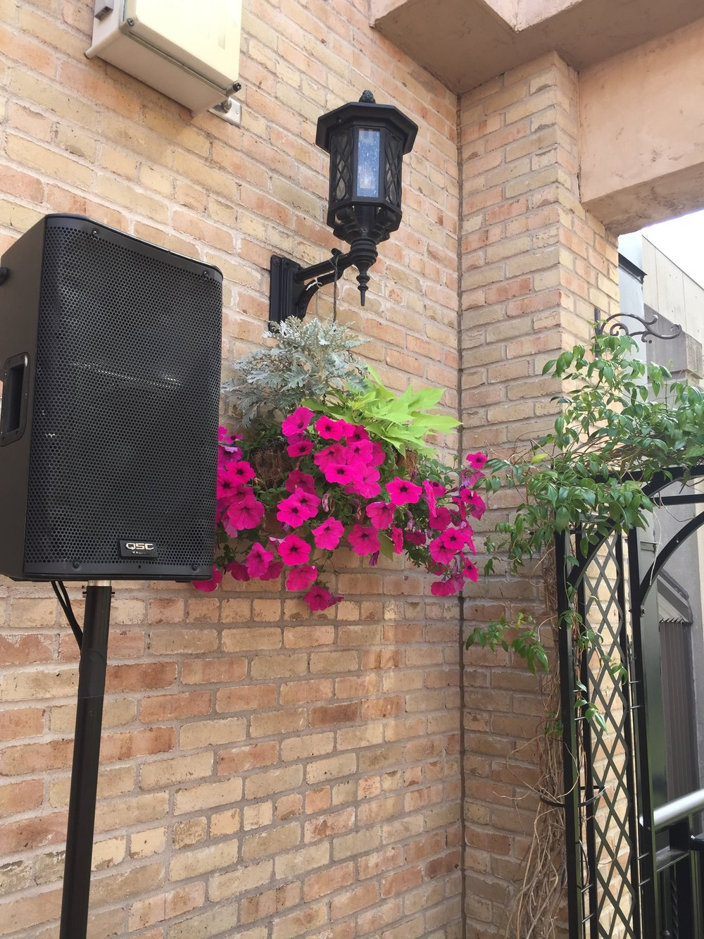 Picture of AV for You speaker rental at Brit's Pub