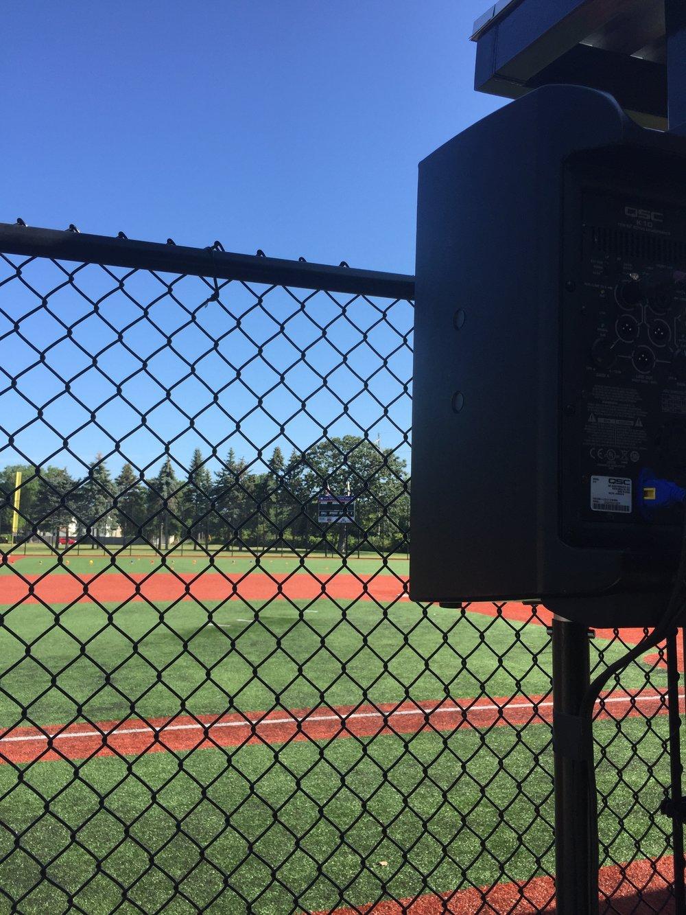 Picture of AV for You speaker rental at Twins All-Star Field for Cal Ripken Sr Foundation