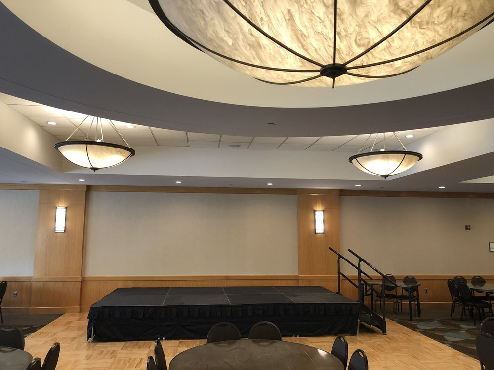 Picture of AV for You stage rental at the Shoreview Community Center
