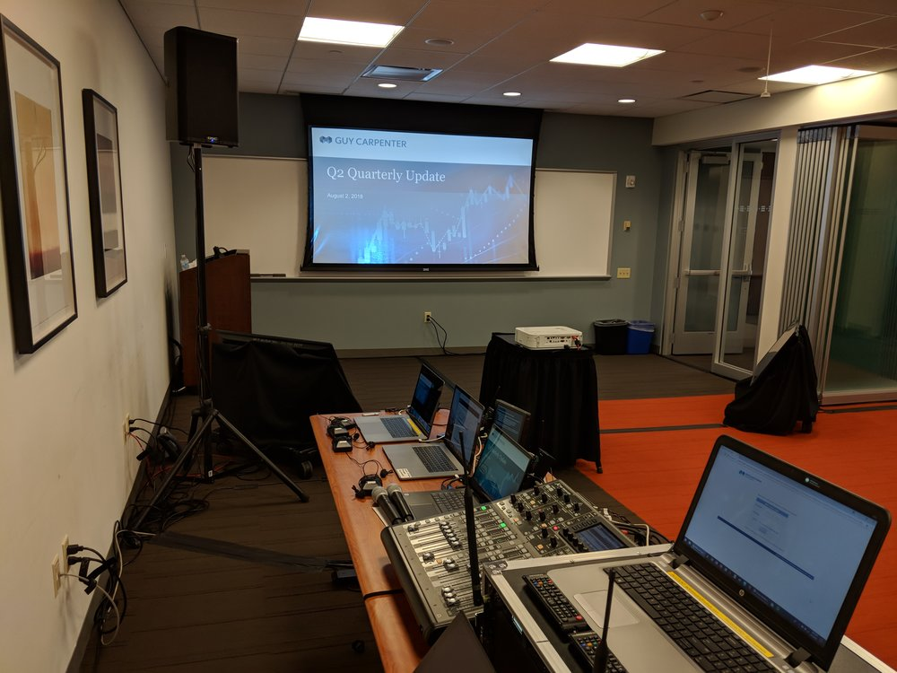 Picture of AV for You webex stream equipment rental in Edina