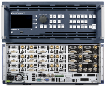 Picture of AV for You Analog Way Ascender 16 4K Video Switcher available to rent