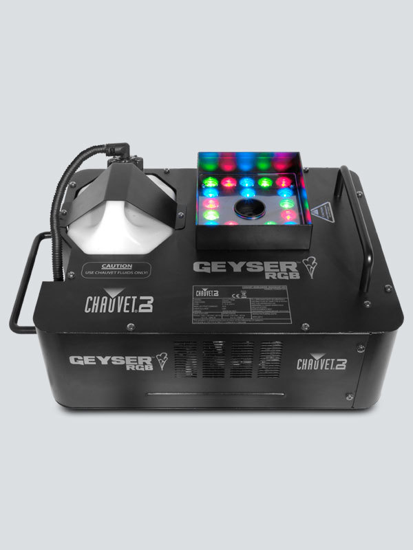 Picture of AV for You Chauvet Geyser with LED and Fog Machine available to rent