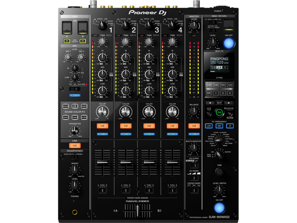 Picture of AV for You Pioneer DJM-900NXS2 Pro DJ Mixer available to rent