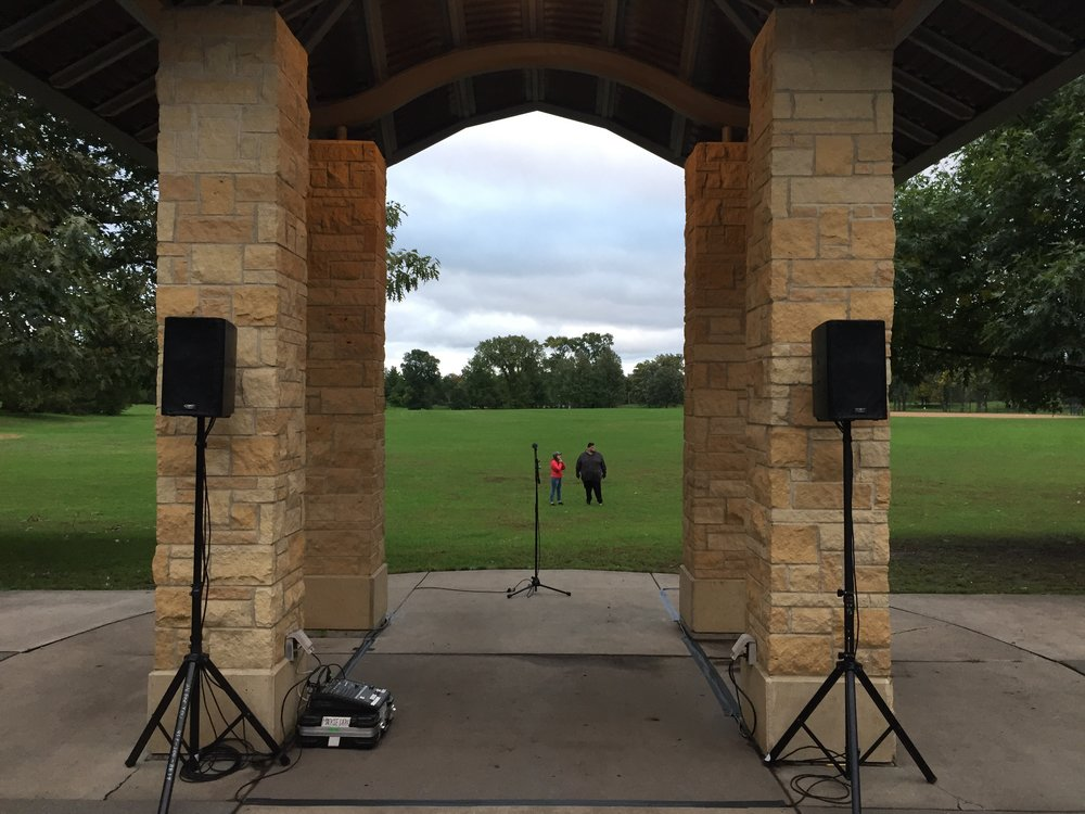 Picture of AV for You sound system rental at Como Park in St Paul