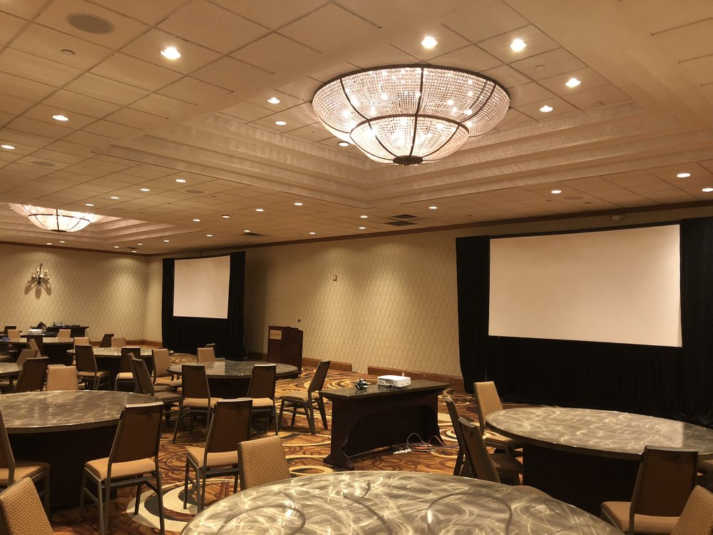 Picture of AV for You rental equipment at the Sheraton West Minneapolis