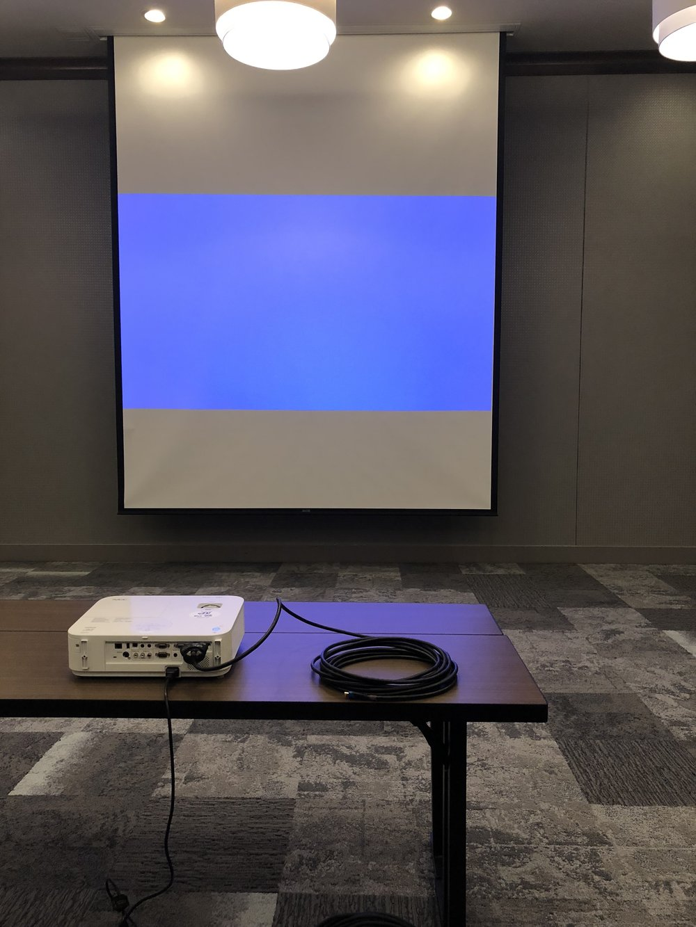 Picture of AV for You projector rental at the Hampton Inn & Suites in St Paul