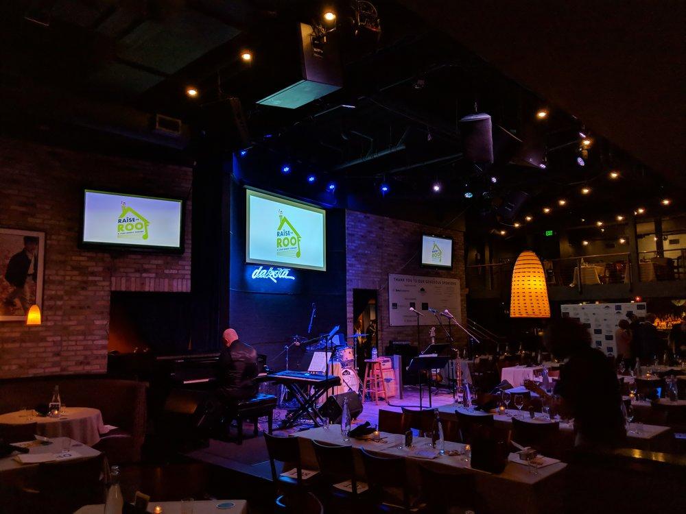 Picture of AV for You rental equipment at the Dakota Jazz Club in Minneapolis