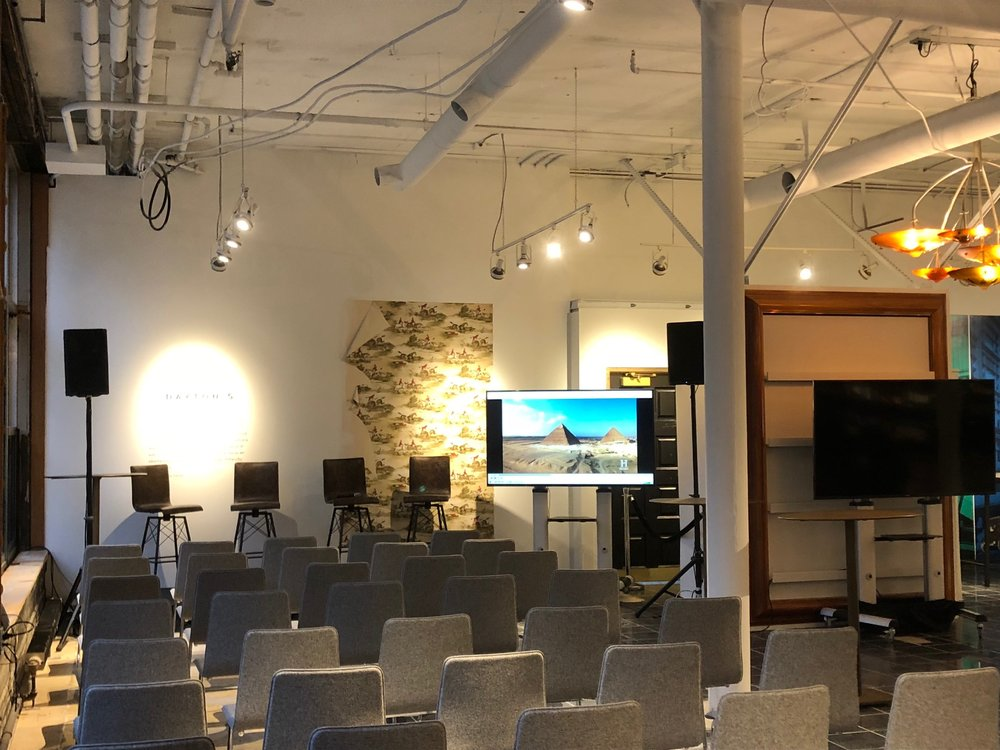 Picture of AV for You rental equipment at Dayton's Project in Minneapolis