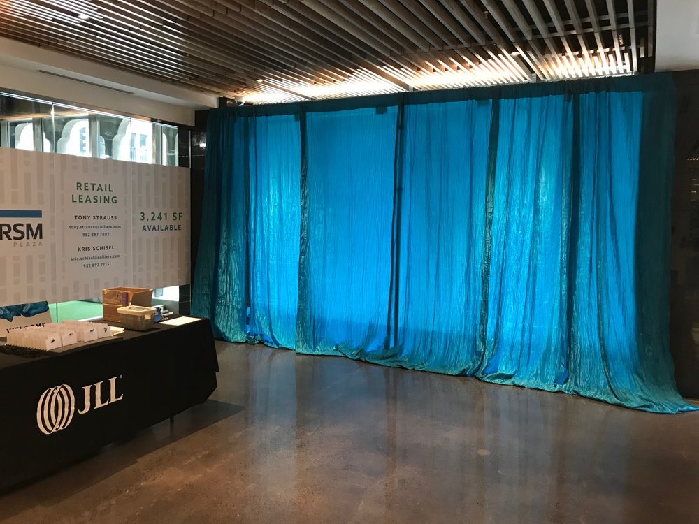 Picture of AV for You custom drape rental in Minneapolis