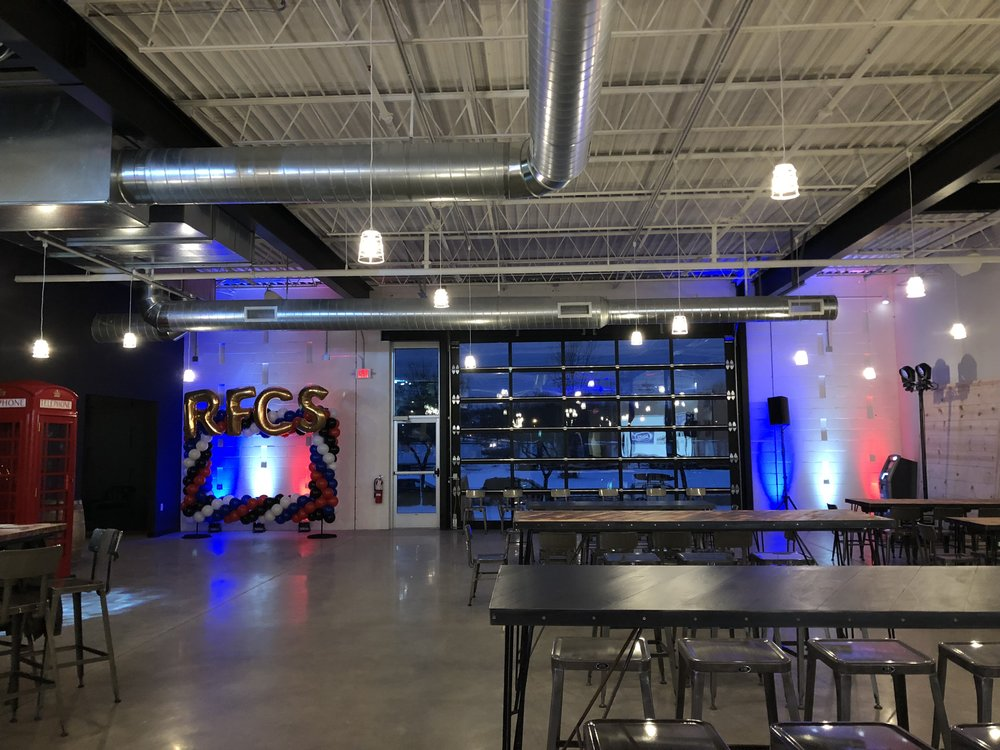 Picture of AV for You rental equipment at Royal Foundry Craft Spirits in Minneapolis